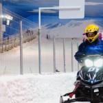 Motoneve é a mais nova atração do Snowland!