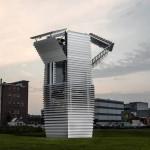 Conheça a torre que transforma a poluição do ar em joias!